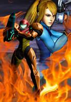 Metroid - Through Fire by Varia31