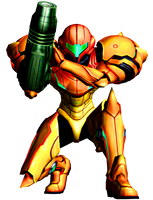 Samus Aran - Metroid II Pose by Varia31