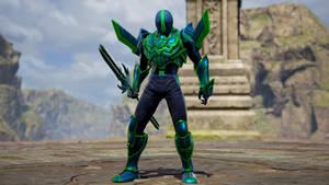 Sylux in Soul Calibur VI