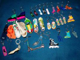 Key Chains - Shoes