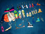 Key Chains - Shoes by breloczkowo