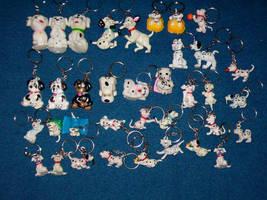 Key Chains - Dalmatians