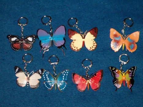 Key Chains - Butterflies