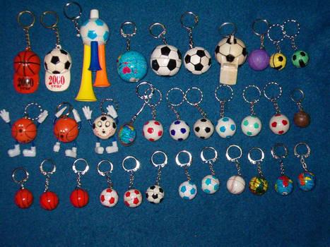 Key Chains - Balls 1