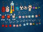 Key Chains - Balls 1 by breloczkowo