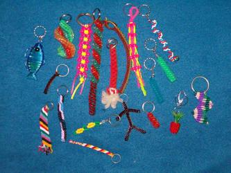 Key Chains by breloczkowo
