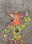 Janis Joplin by cosmicplasm