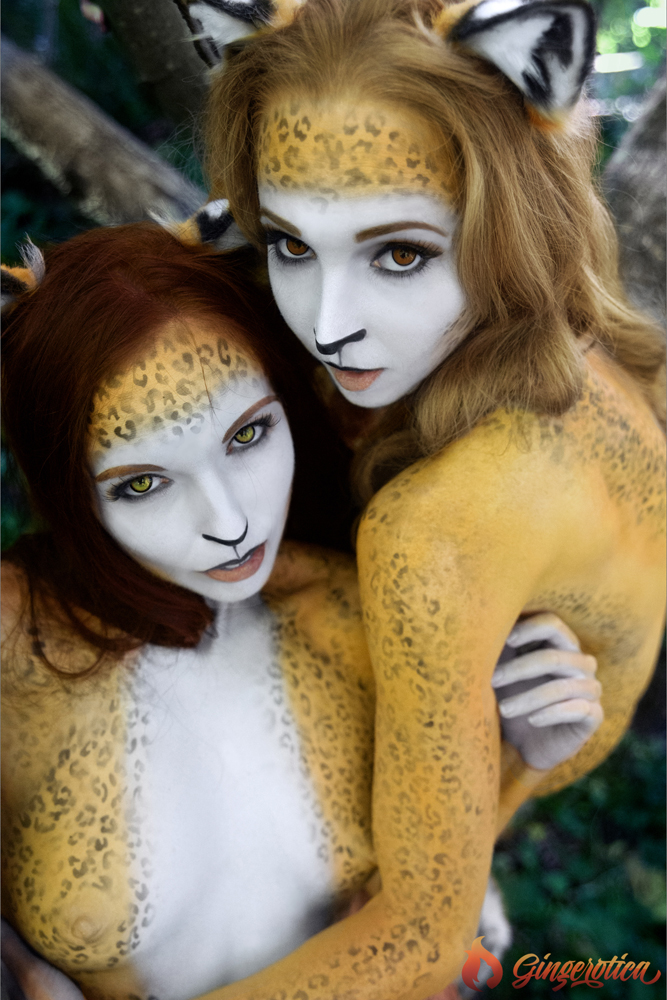 Gingerotica - Frisky Kitties 06 by Gingersnap-Pixie