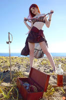 Pirate-Girl Plunders Her Treasure - Teaser 5 by Gingersnap-Pixie