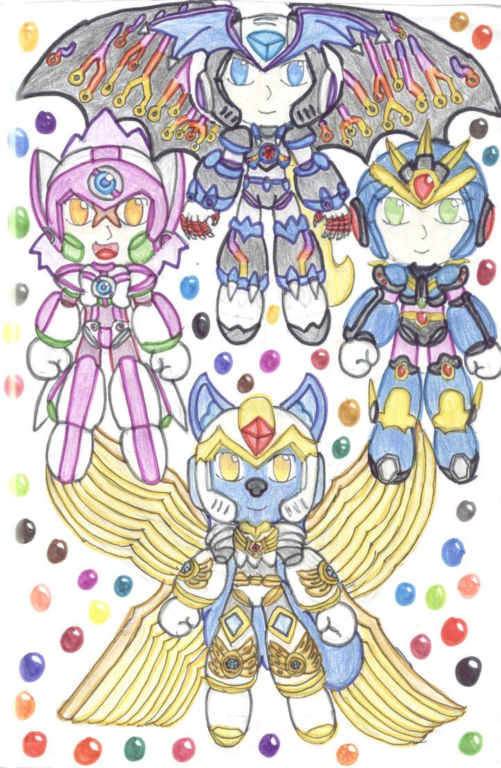 Hyper Modes Series: Chibi SWAT by Star-Ninja