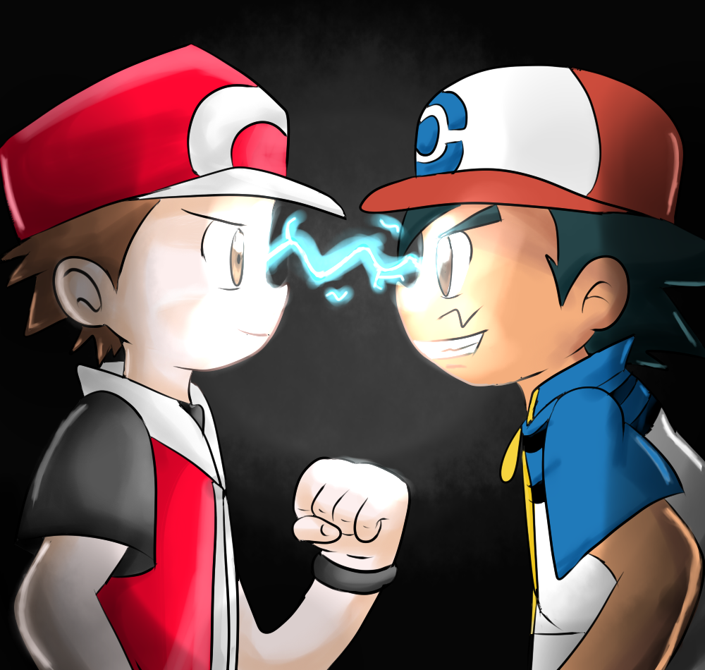 ash and red meet fanfic