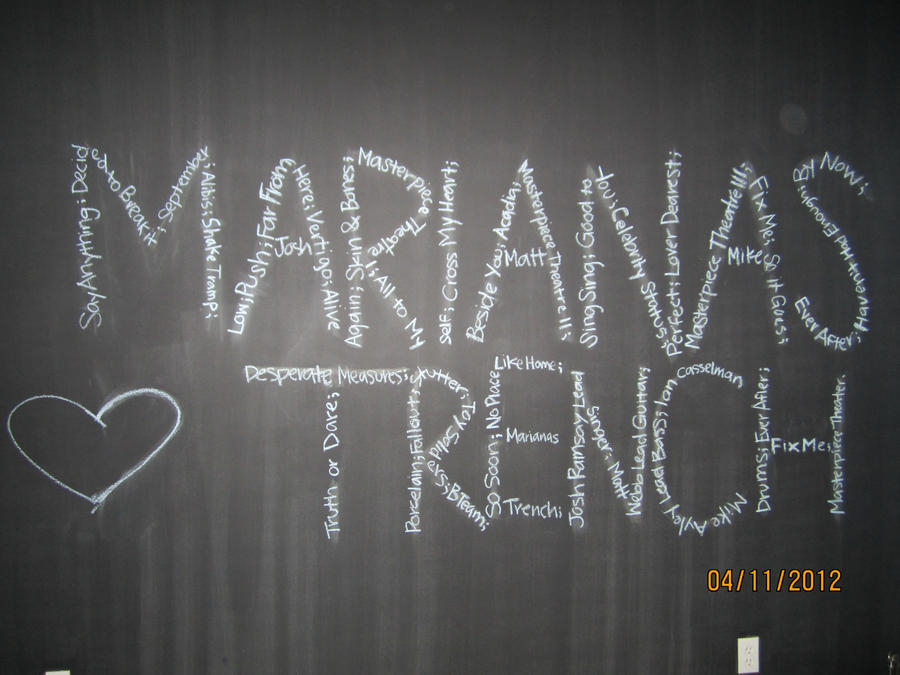 Marianas Trench Chat Room