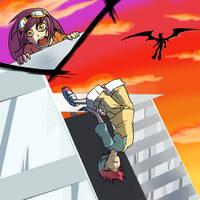 Death's Nuzlocke: Gijinka rush by Protocol00