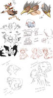 END RUN: mini sketch dump OTL