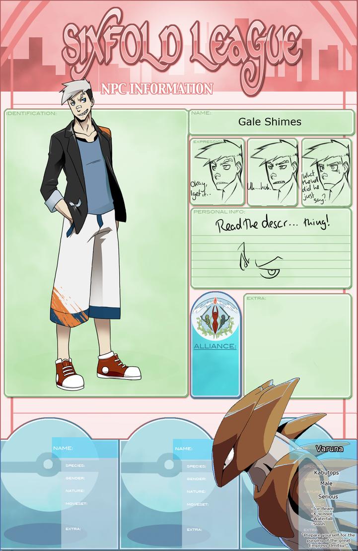 NPC Gale Shimes by Protocol00