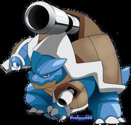 Mega Blastoise by Protocol00