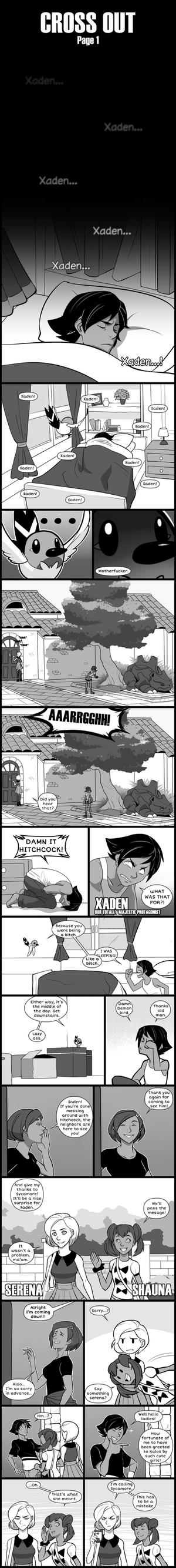 Cross Out [Pokemon X blind nuzlocke] page 1 by Protocol00