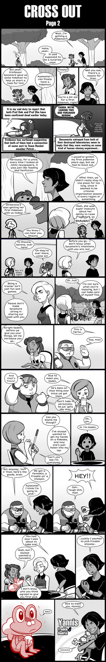 Cross Out [Pokemon X blind nuzlocke] page 2 by Protocol00