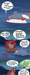 Groudon vs Kyogre by Protocol00