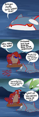 Groudon vs Kyogre