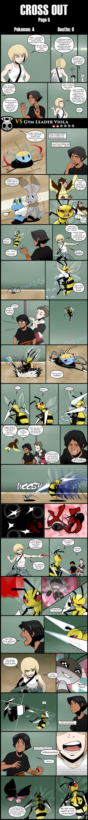 Cross Out [Pokemon X blind nuzlocke] page 5 by Protocol00