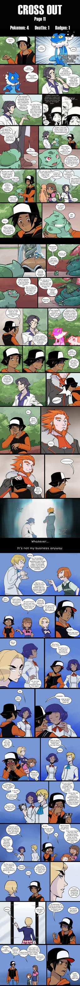 Cross Out [Pokemon X blind nuzlocke] page 11 by Protocol00