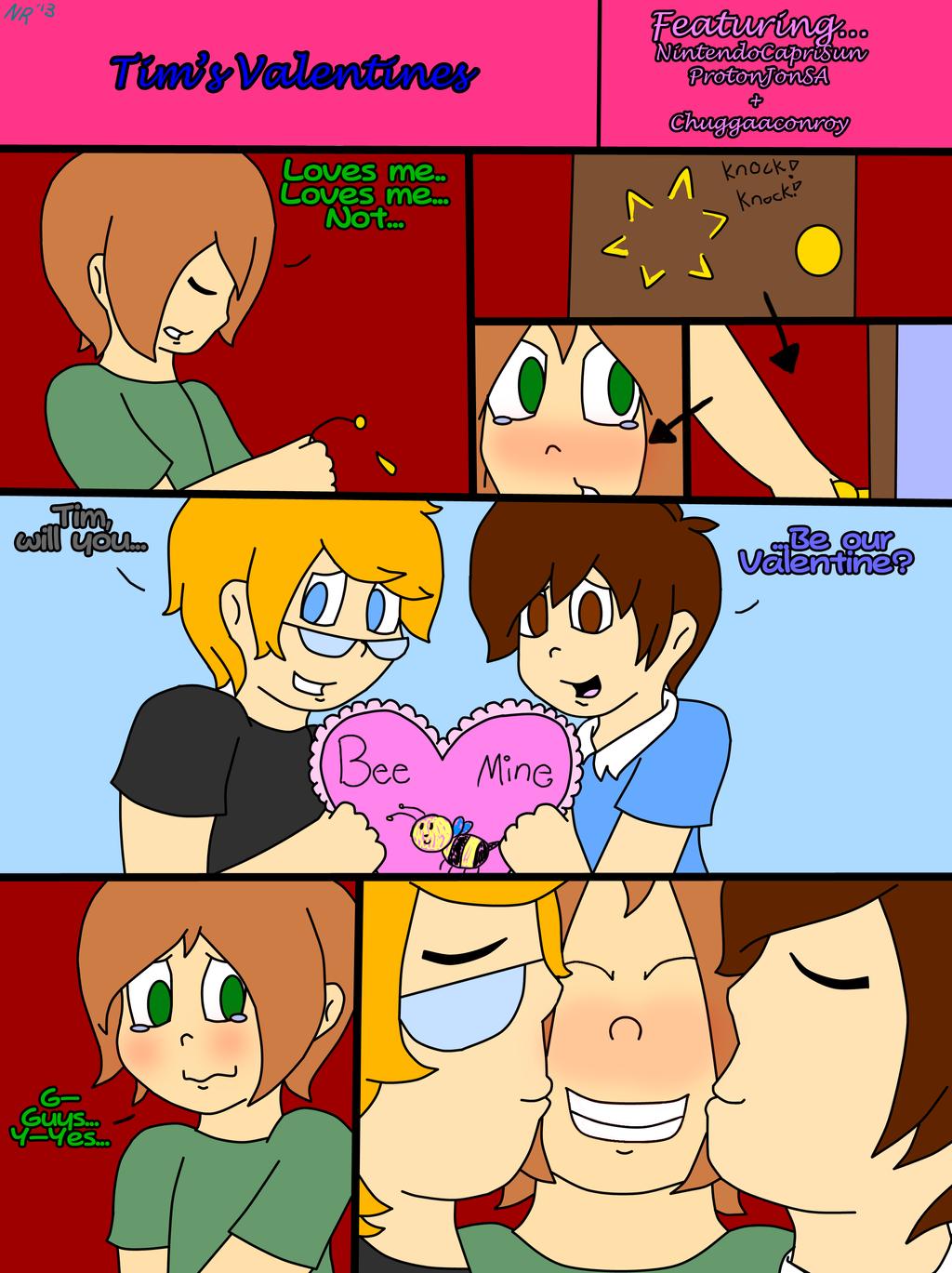 Tim's ((Belated)) Valentines ::COMIC:: by NintendoRainbow