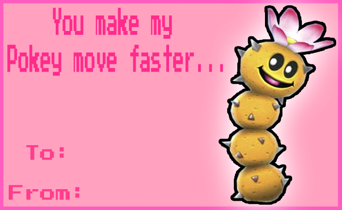 Proton Jon Valentines Day card by NintendoRainbow