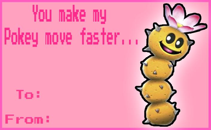 Proton Jon Valentines Day card by NintendoRainbow