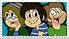 TheRunawayGuys stamp by NintendoRainbow