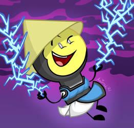 Thunder God Lightbulb