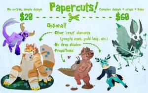 Papercuts Commissions - Open!