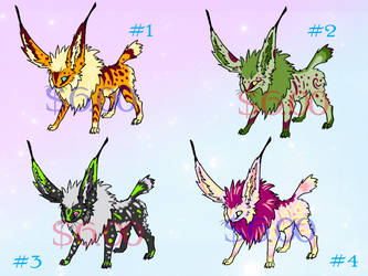 Flyx - Adoptables! by ParticleSoup