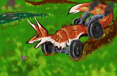 The Racing Fox