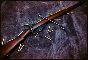 Lee Enfield No.4 MK.I by EmpPhotography