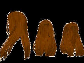 Long hair MMD by vladanor