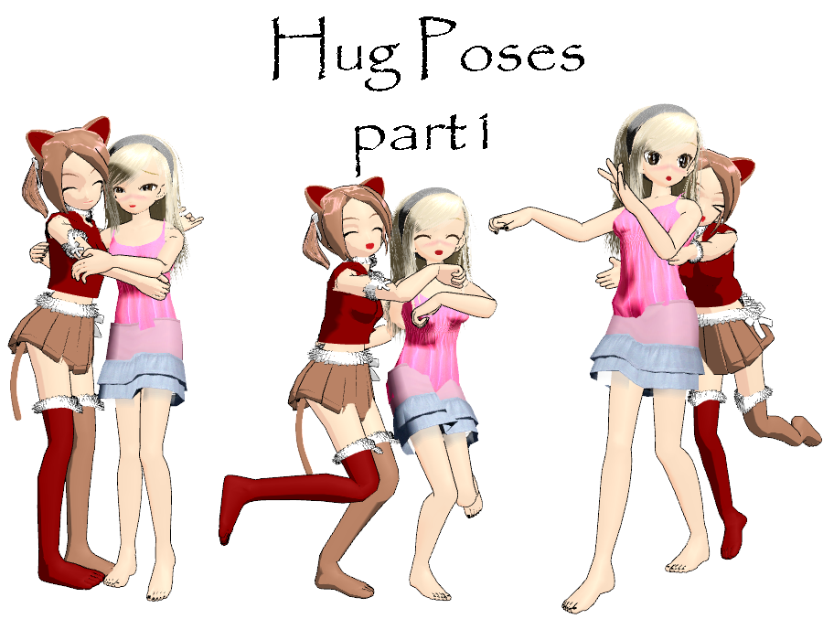 hug poses part 1vladanor on deviantart