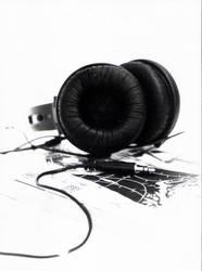 headphone and manga