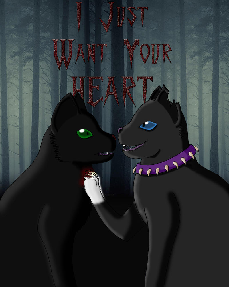 Hollyleaf X Scourge By RosaSilverwolf