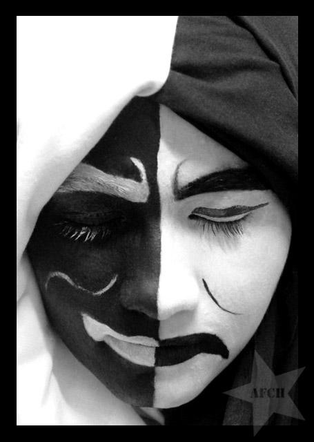 tattoo face by alejarb
