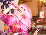 jem and the hologram cosplay