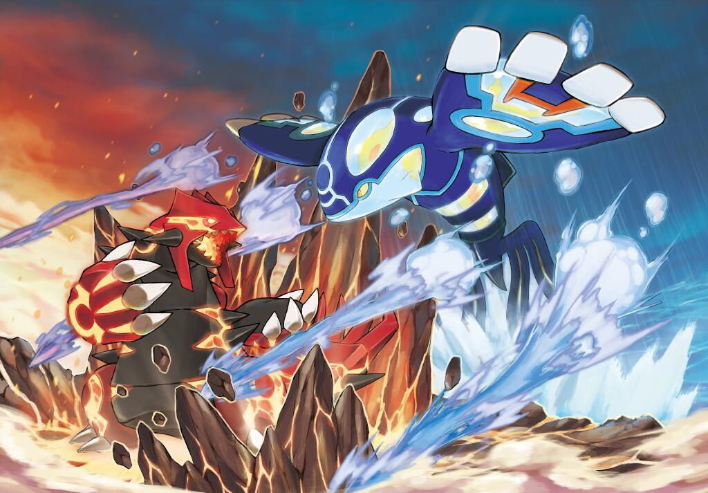 Primal groudon and primal kyogre signature moves by coldblitz on deviantart - Pictures of groudon and kyogre ...