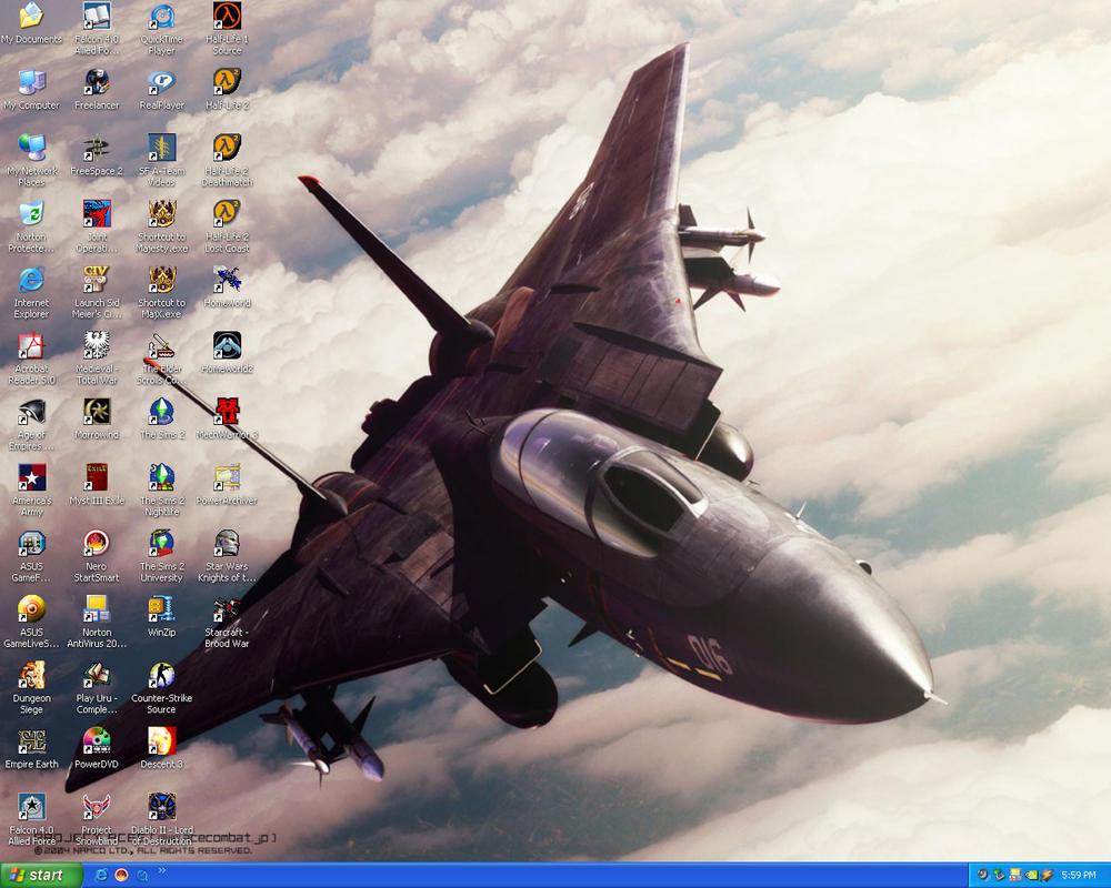 Current Desktop by ReblRC61