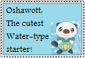 Oshawott Stamp by Hunter-Arkaman