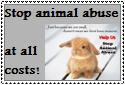 Anti-Animal Abuse Stamp by Hunter-Arkaman