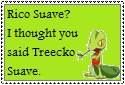 Treecko Suave Stamp by Hunter-Arkaman