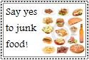Junk Food Stamp by Hunter-Arkaman