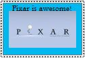 Pixar Stamp by Hunter-Arkaman
