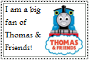 Thomas the Tank Engine Stamp by Hunter-Arkaman
