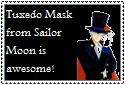 Tuxedo Mask Stamp by Hunter-Arkaman